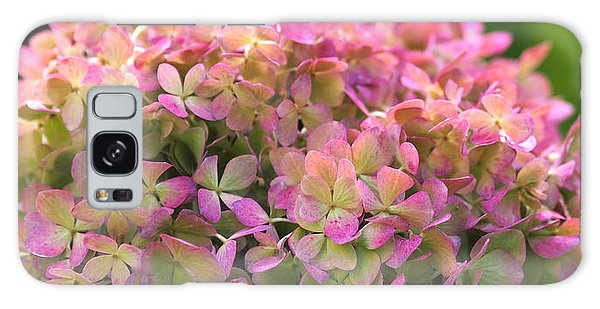 Color-changing Little Lime Hydrangea Galaxy Case