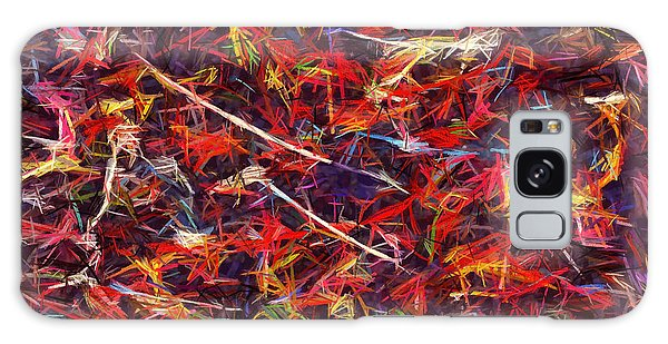 Color Crayons Galaxy Case
