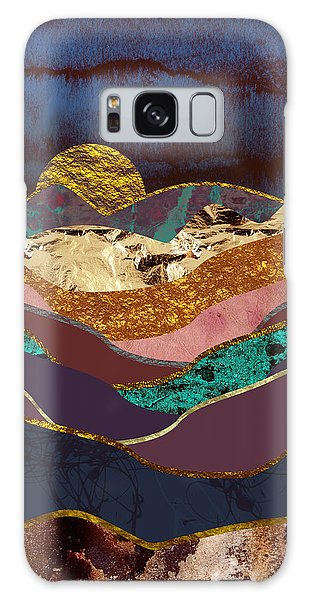 Landscape Galaxy Case - Color Fields by Katherine Smit
