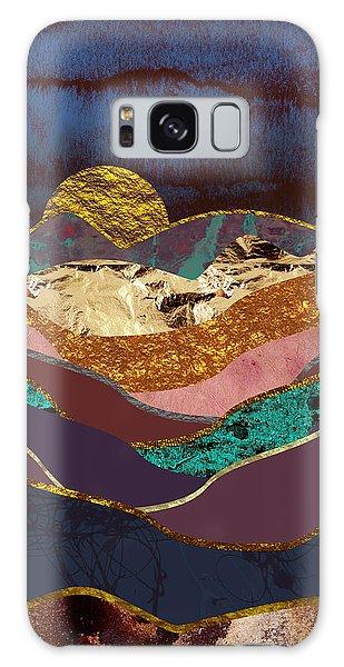 Landscape Galaxy Case - Color Fields by Katherine Smit