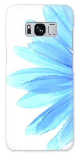 Flowers Galaxy Case - Color Me Blue by Rebecca Cozart