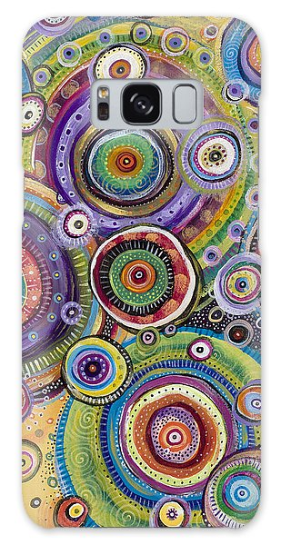Color Me Happy Galaxy Case by Tanielle Childers