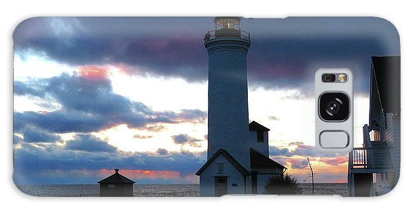 Color Of December, Tibbetts Point Lighthouse Galaxy Case