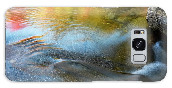 Galaxy Case featuring the photograph Color On The Swift River Nh by Michael Hubley