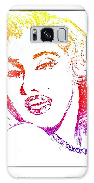 Color Rendition Of Marilyn Monroe Galaxy Case