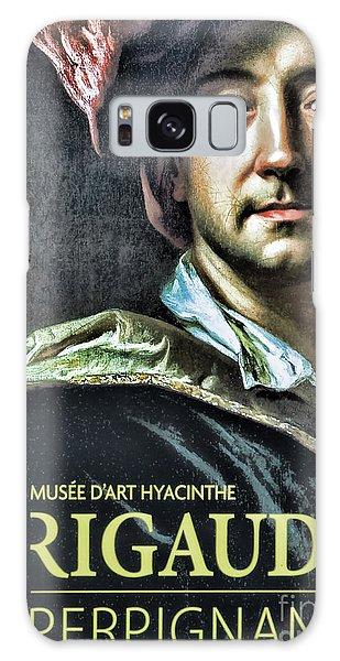 Color Rigaud Musee D' Art Perpignan France Up Close  Galaxy Case