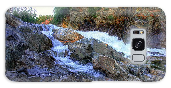 Color Steps At Livermore Falls Galaxy Case