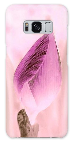 Color Trend Flower Bud Galaxy Case