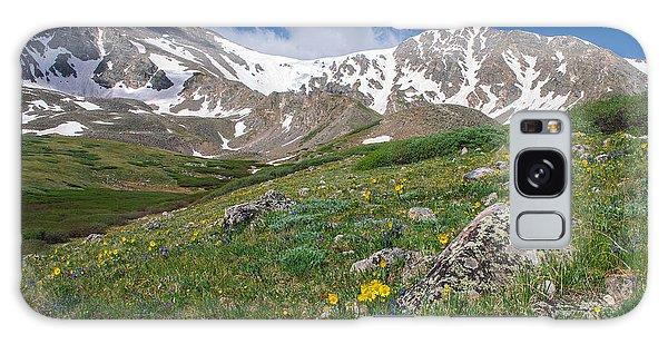 Colorado 14ers Grays Peak And Torreys Peak Galaxy Case