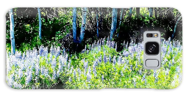 Colorado Apens And Flowers Galaxy Case