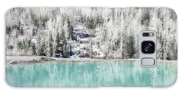 Colorado Aqua Woodland Forest Landscape Galaxy Case by Andrea Hazel Ihlefeld