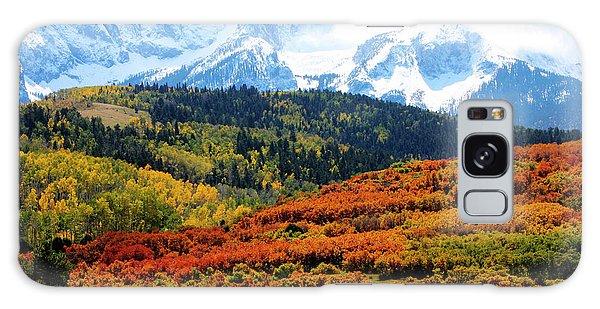Colorado Autumn 2016 San Juan Mountains  Galaxy Case