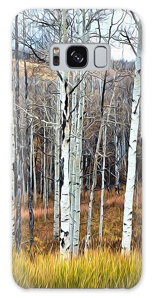 Colorado Fall Aspen Galaxy Case