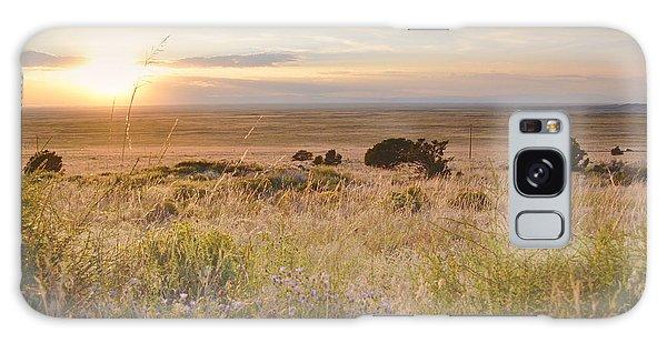 Colorado Field Sunset Landscape Galaxy Case by Andrea Hazel Ihlefeld