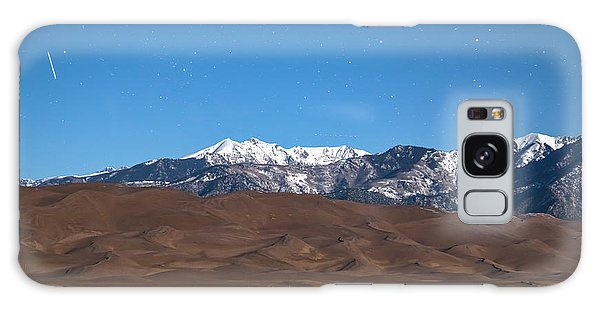Colorado Great Sand Dunes With Falling Star Galaxy Case by James BO Insogna