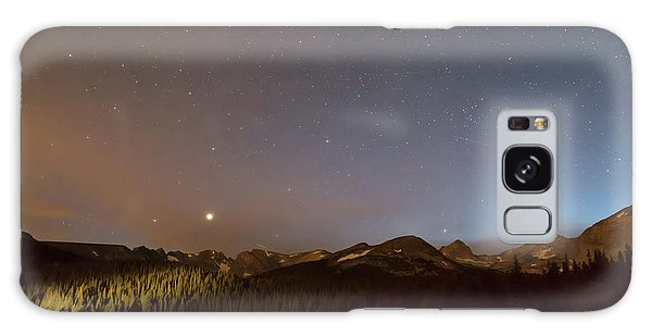 Galaxy Case featuring the photograph Colorado Indian Peaks Stellar Night by James BO Insogna
