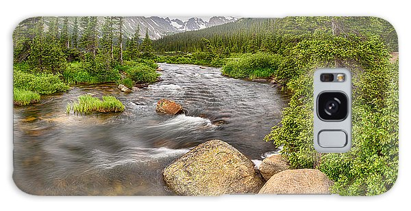 Indian Peaks Wilderness Galaxy Case - Colorado Indian Peaks Wilderness Creek Panorama by James BO Insogna