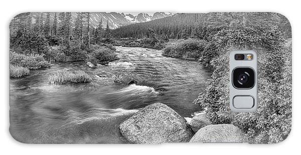 Indian Peaks Wilderness Galaxy Case - Colorado Indian Peaks Wilderness Panorama Bw by James BO Insogna