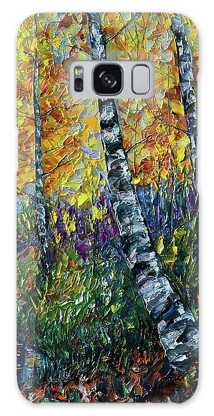 Glimpses Of Colorado Fall Colors Galaxy Case
