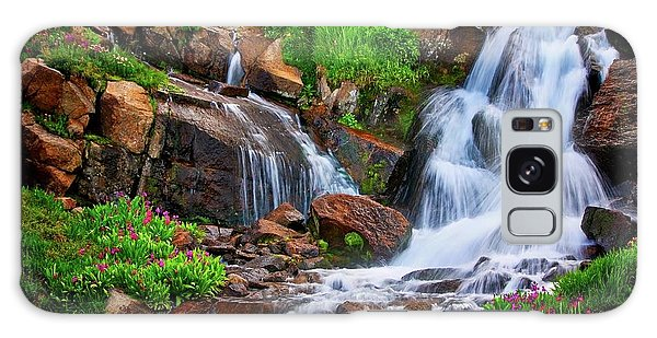 Colorado Mountain Stream, Indian Peaks Wilderness Galaxy Case