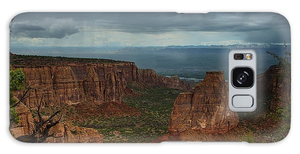 Colorado National Monument Storm National Park Galaxy Case