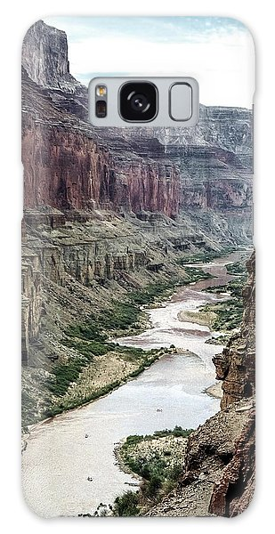Colorado River And The East Rim Grand Canyon National Park Galaxy Case