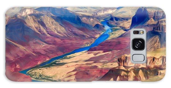 Colorado River In Grand Canyon Galaxy Case