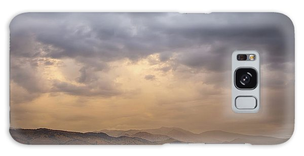 Galaxy Case featuring the photograph Colorado Rocky Mountain Foothills Storms by James BO Insogna