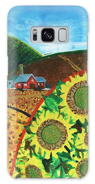 Colorado Sunflowers Galaxy Case
