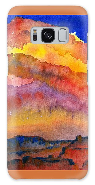 Colorado Sunset Galaxy Case by Anne Marie Brown