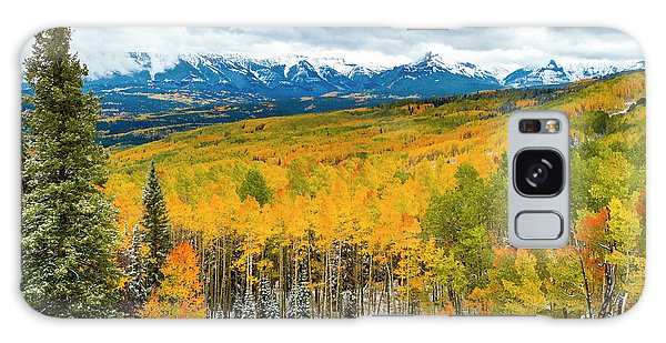 Colorado Valley Of Autumn Color Galaxy Case by Teri Virbickis