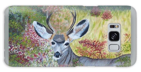 Colorado White Tail Deer Galaxy Case