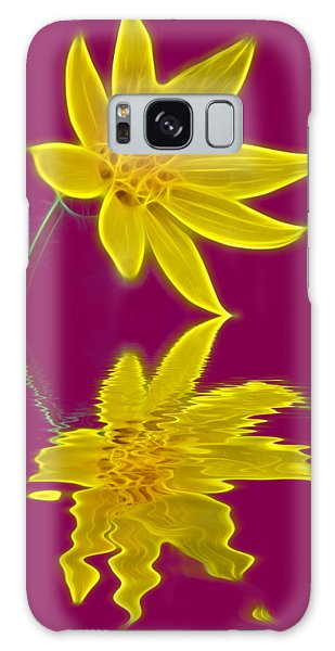 Colorado Wildflower Galaxy Case