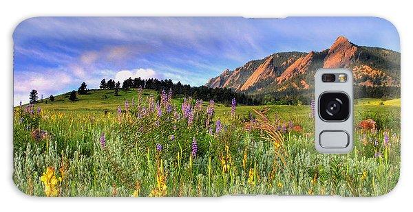 View Galaxy Case - Colorado Wildflowers by Scott Mahon