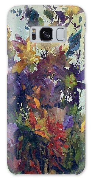 Colorburst Galaxy Case by Helen Harris