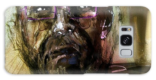 Colored Glasses Galaxy Case by Jim Vance