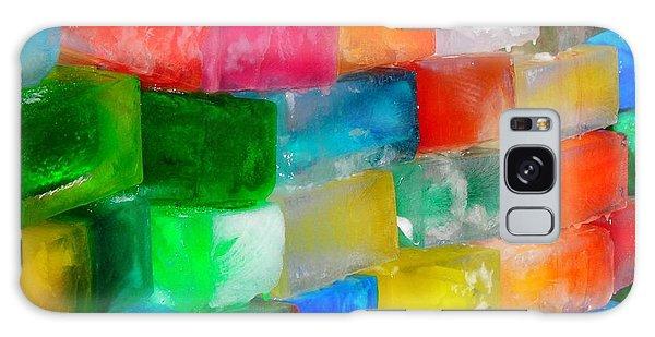 Colored Ice Bricks Galaxy Case