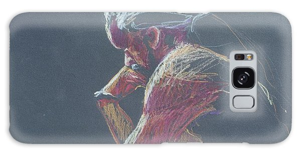 Colored Pencil Sketch Galaxy Case