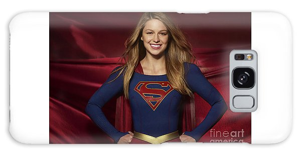 Colored Pencil Study Of Supergirl - Melissa Benoist Galaxy Case