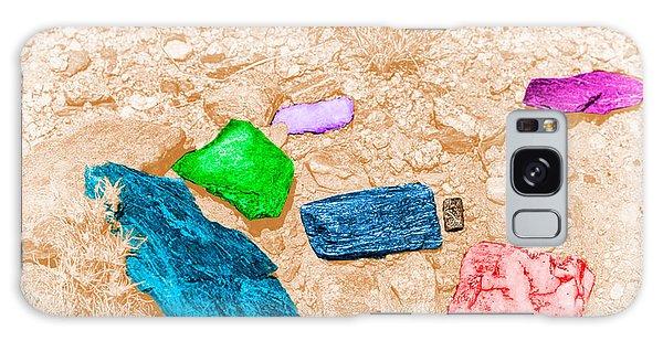 Colored Rocks 1 Galaxy Case