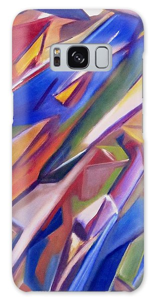 Colorful Abstract Galaxy Case by Patricia Cleasby