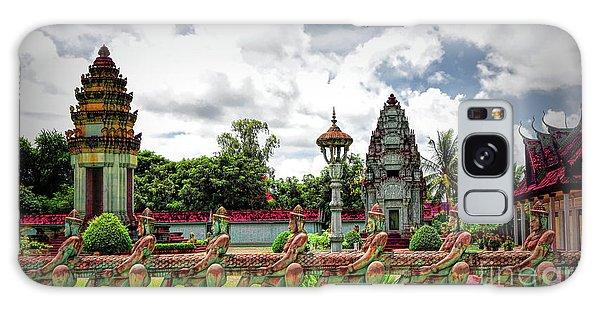 Colorful Architecture Siem Reap Cambodia  Galaxy Case