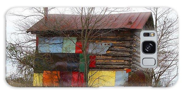 Colorful Barn Galaxy Case