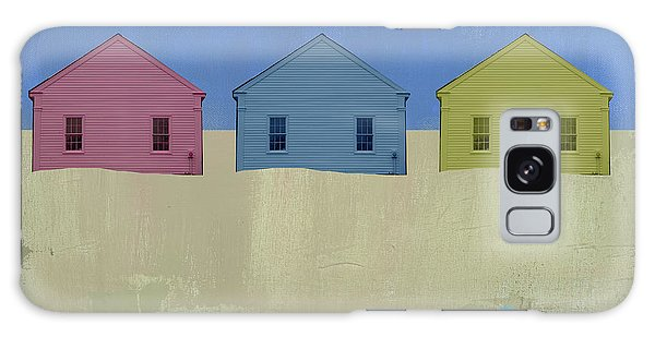 Cottage Galaxy Case - Colorful Beach Cottage by Jacquie Gouveia