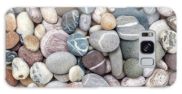 Galaxy Case featuring the photograph Colorful Beach Pebbles by Elena Elisseeva