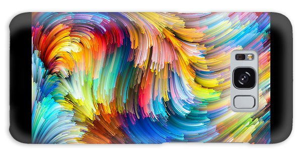 Colorful Beauty Galaxy Case by Karen Showell