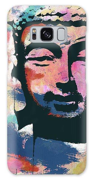 Buddha Galaxy Case - Colorful Buddha 2- Art By Linda Woods by Linda Woods