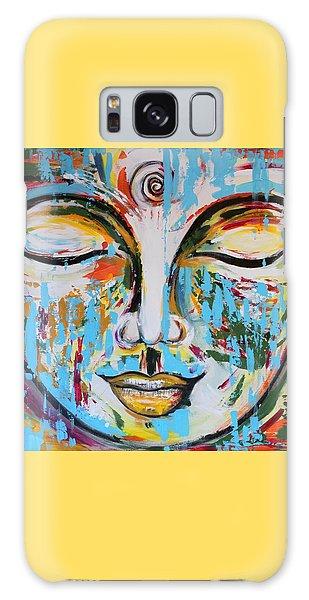Colorful Buddha Galaxy Case