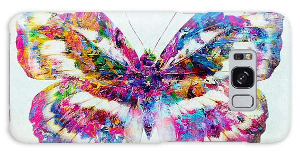 Colorful Butterfly Art Galaxy Case by Olga Hamilton