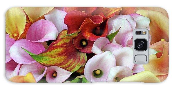 Colorful Calla Lilies Galaxy Case